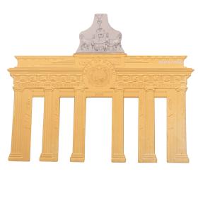 Skulpturmünze Brandenburger Tor