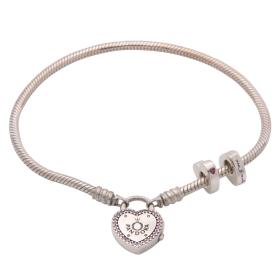 Armband mit Beads von Pandora in 925er Silber